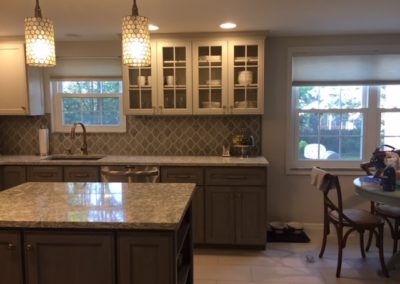 After - Completely remodeled kitchen