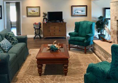 After - Revived living room