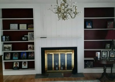 Before - Yesterday's fireplace
